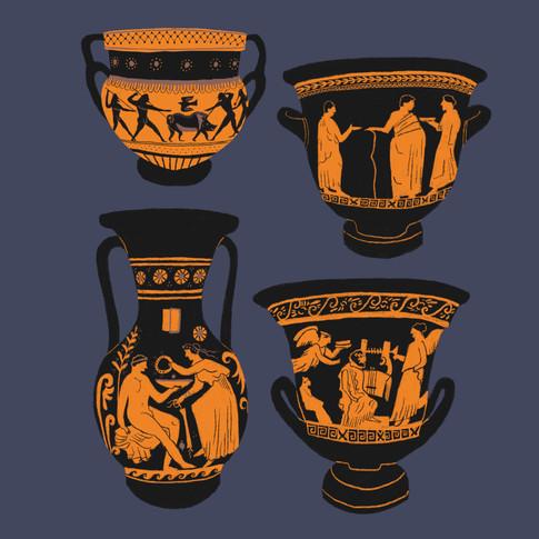 Greek Pots