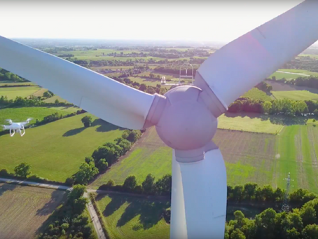 Grid and Wind Turbine Inspections Made Easy by Drone Solutions