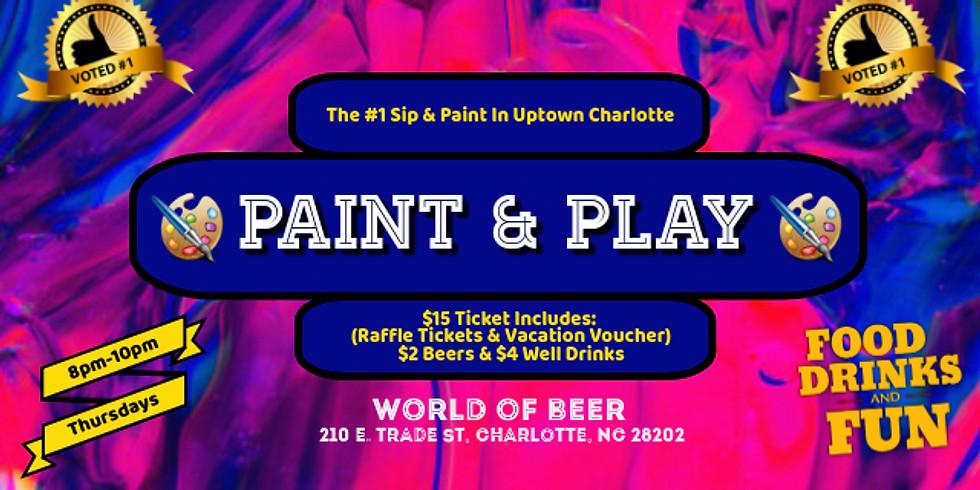 Thursdays: $15 Sip & Paint (EpiCenter)