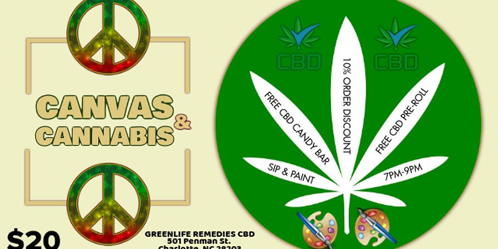 Mondays $20: Canvas & Cannabis