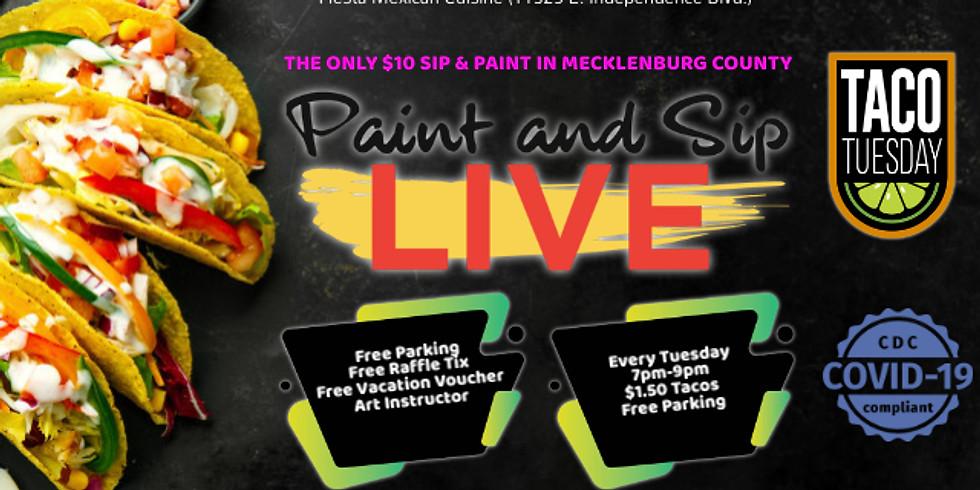 Taco Tuesday Sip & Paint
