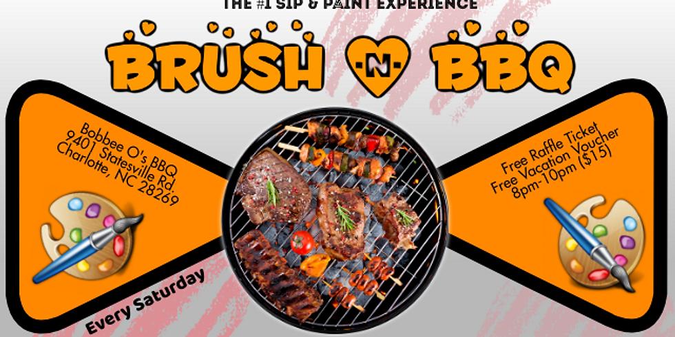 Saturday $15: Brush & BBQ