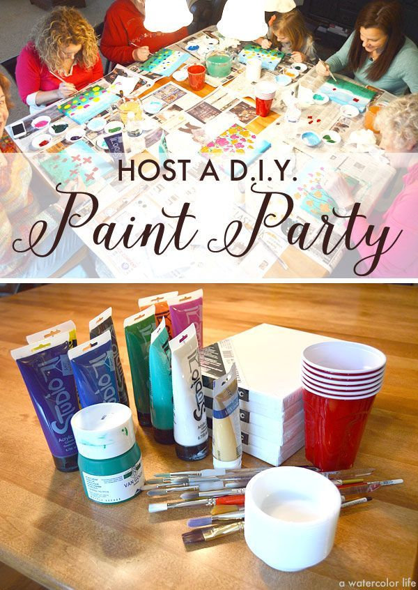 Paint & Play (Kids Party)