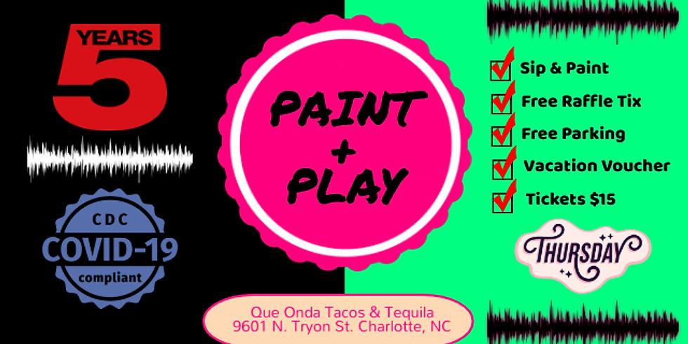 Thursday $15: Sip & Paint
