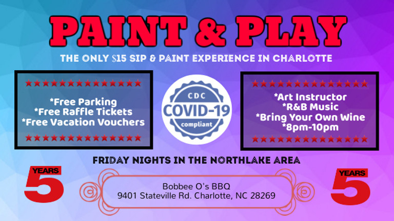 Friday $15: Paint & Play (Northlake Area)