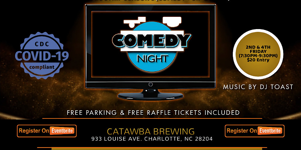Friday $20: Sip & Paint + Comedy