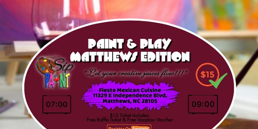Saturdays $15: Sip & Paint