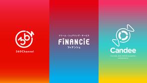 あなたの夢がみんなの財産になるSNS「FiNANCiE」が「株式会社360Channel」及び「株式会社Candee」と協業。オンラインライブの実施に向け、ファンディングから配信までワンストップ支援!