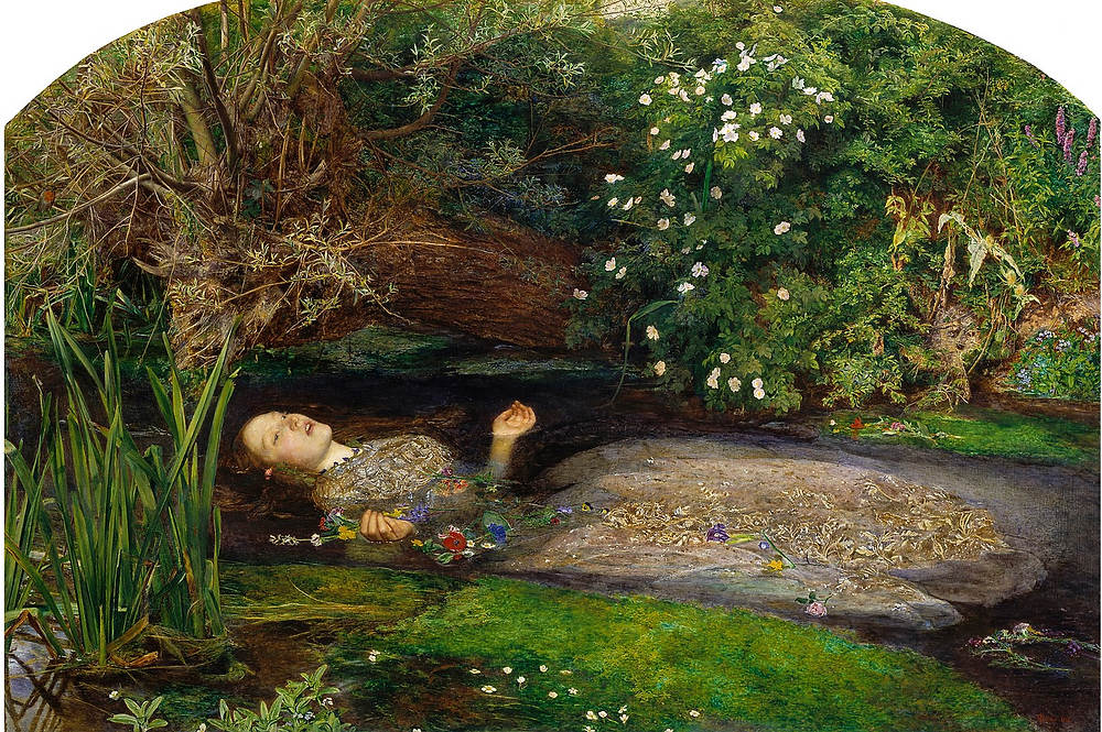 John Everett Millais - Ophelia 1851