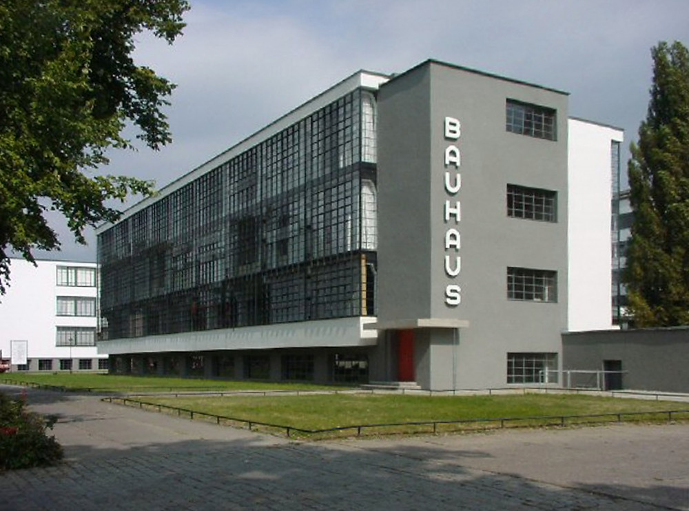 The Bauhaus Building in Dessau, Germany