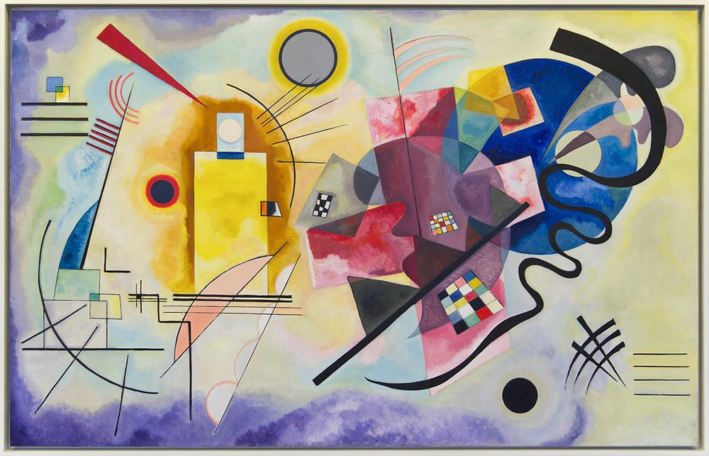Kandinsky's Yellow-Red-Blue (1925)