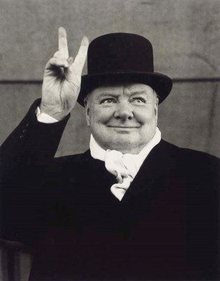 Sir Winston Churchill, Liverpool, 1951