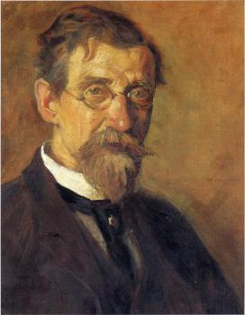 Portrait of T. C. Steele, Jeffrey T. Larson