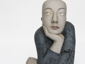 Capturing Contemplation: Contemporary Sculptor Wang Shaojun