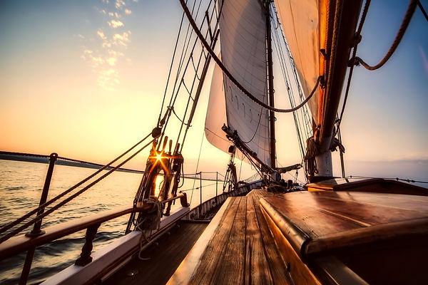 Sunrise Sailboat