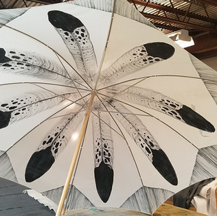 Hand-painted Umbrella