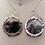 Thumbnail: Mica & Silver Hoop Earrings
