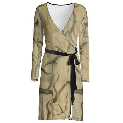 Antler Series I Wrap Around Dress
