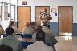Workshop at La Tuna Federal Prison