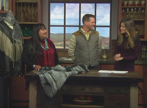 KOB-TV Interviews Patricia Michaels, New Mexico Artisan Market Featured Artist