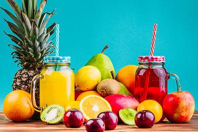 fresh-healthy-fruits-and-juice-mason-jar