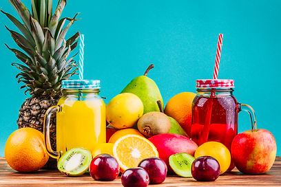 fresh-healthy-fruits-and-juice-mason-jar