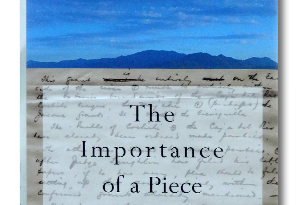 The Importance of a Piece of Paper [Signed Hardcover]