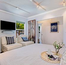 Luxury coastal bedroom