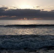 Ocean waves at Cocoa Beach