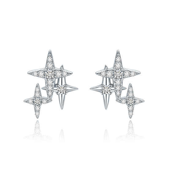 Stars Earring Silver