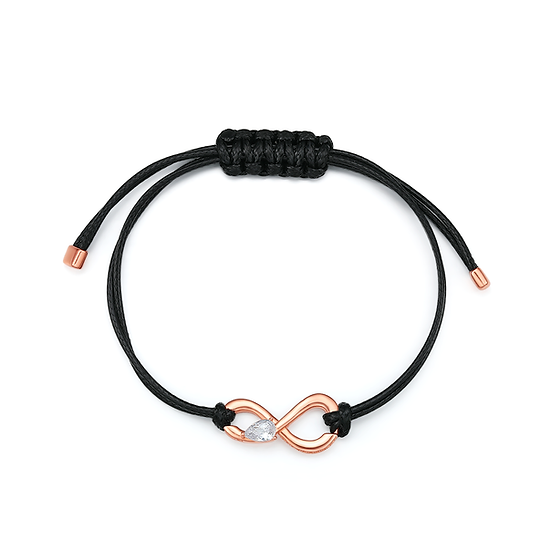 Infinite Unisex Bracelet Rose Gold