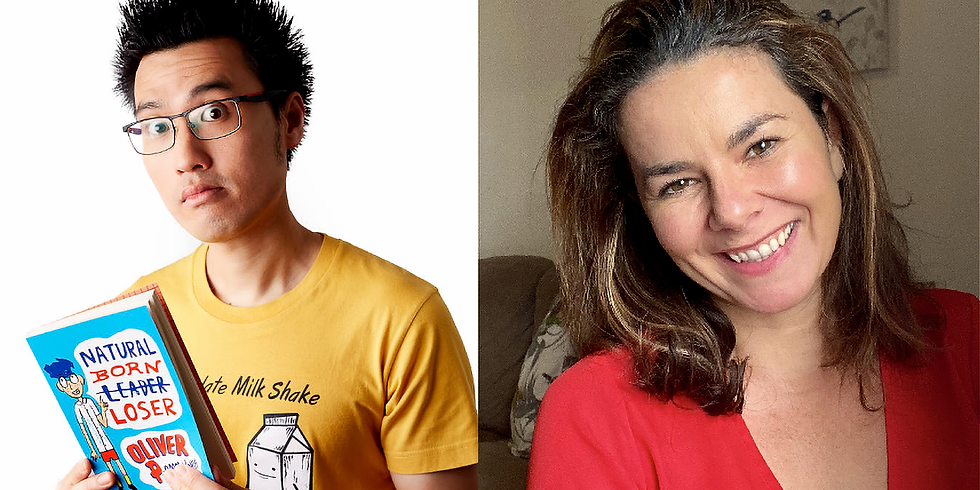 School Holiday Writing Workshop with Oliver Phommavanh and Catherine Pelosi