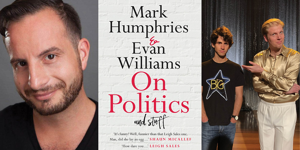 Mark Humphries and Evan Williams in conversation with Dan Ilic