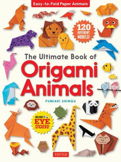 The Ultimate Book of Origami Animals By Fumiaki Shingu