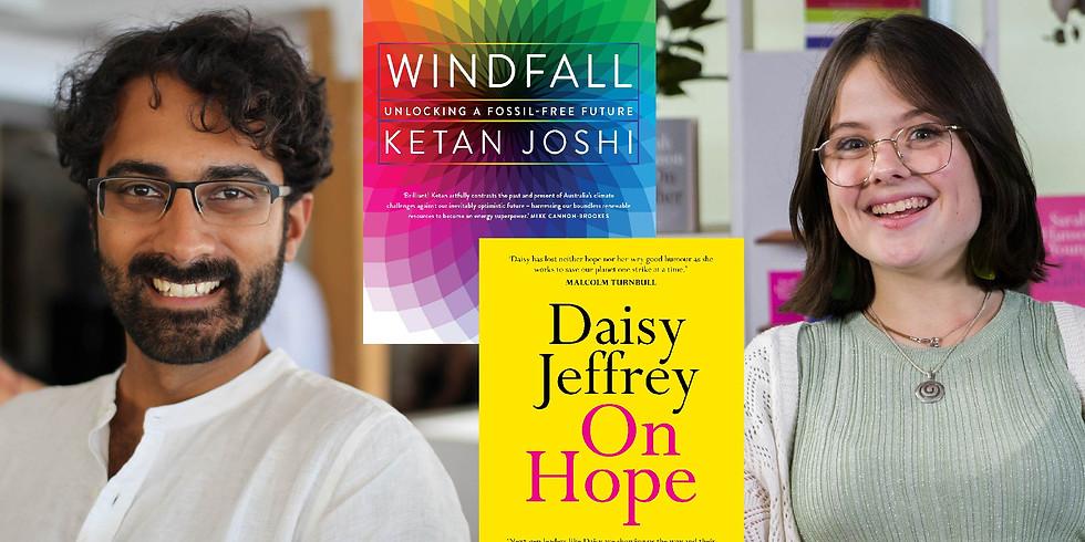 Ketan Joshi and Daisy Jeffrey in Conversation