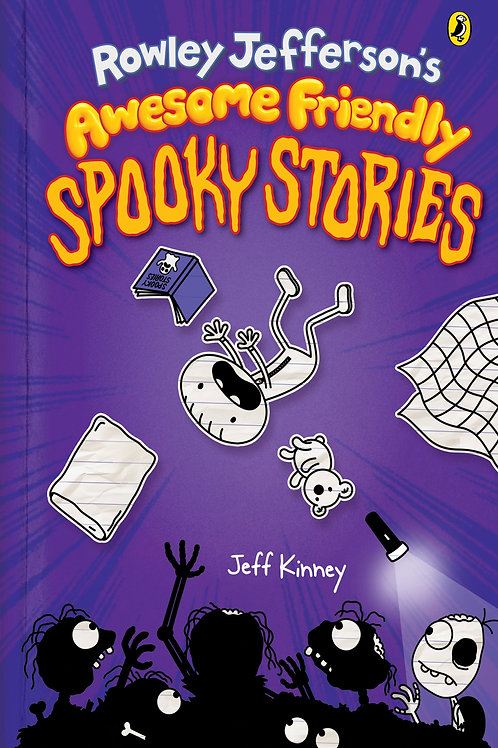 Rowley Jefferson's Awesome Friendly Spooky Stories, Book 3, by Jeff Kinney