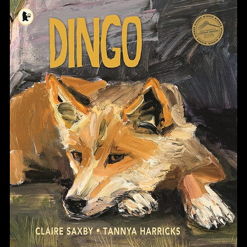 Dingo Book by Claire Saxby