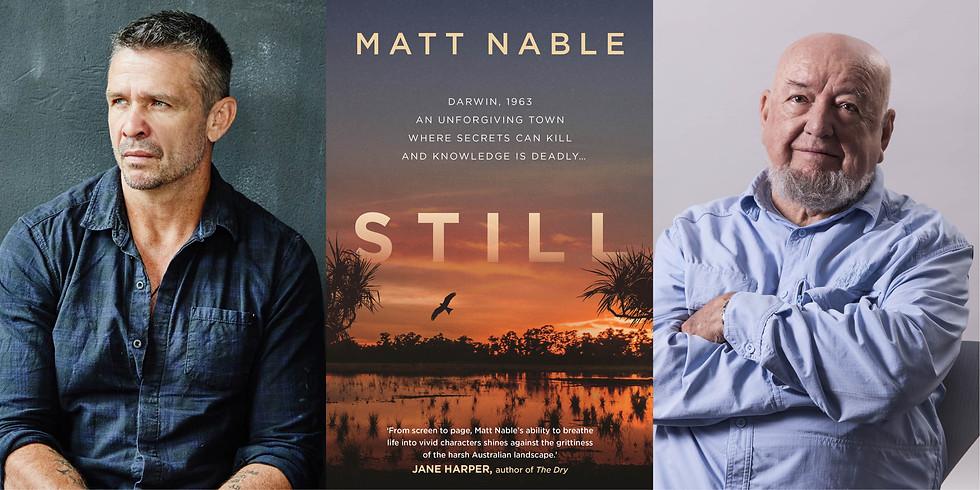 Matt Nable  and Thomas Keneally in-conversation