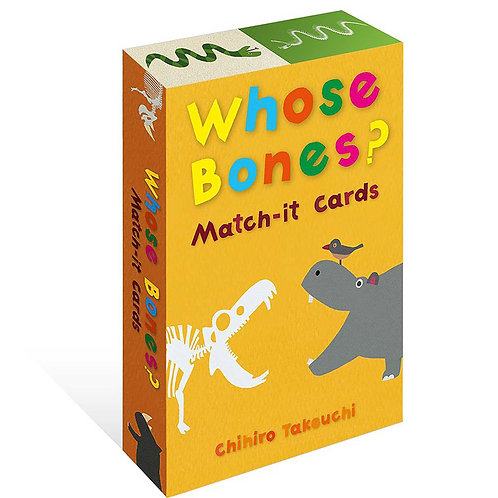 Whose Bones Match It Cards by Chihiro Takeuchi