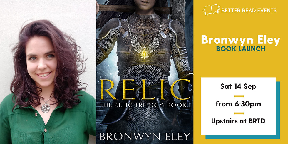 Bronwyn Eley - Relic Book Launch (1)