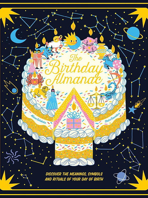 The Birthday Almanac by Claire Saunders