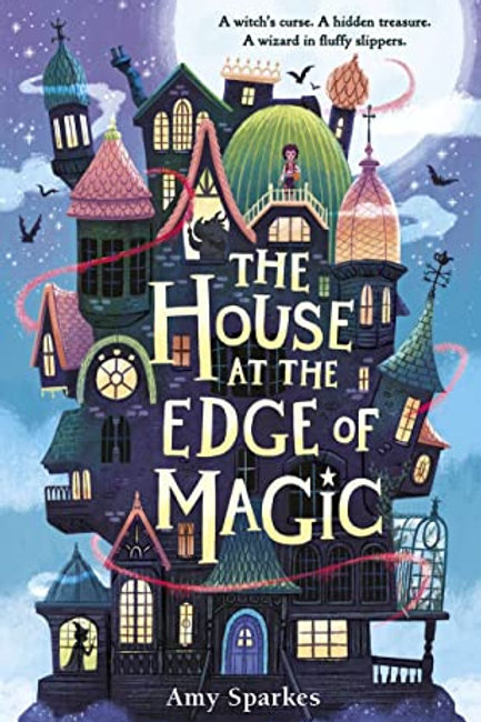 House at Edge Magic by Amy Sparkes