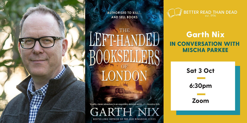 Garth Nix - The Left-Handed Booksellers of London