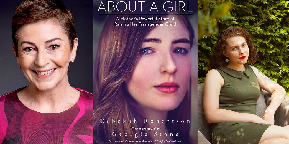 About a Girl - Rebekah Robertson in conversation with Liz Duck-Chong (1)