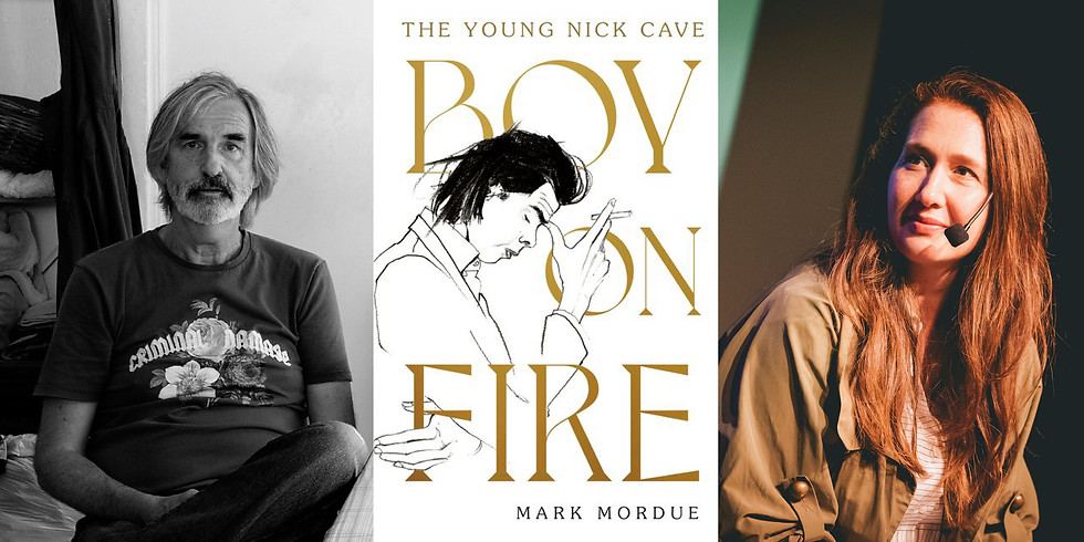 Mark Mordue - Boy On Fire: The Young Nick Cave (1)