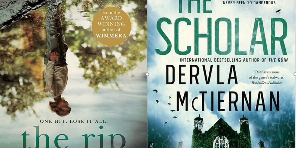 The Rip & The Scholar: Mark Brandi & Dervla McTiernan