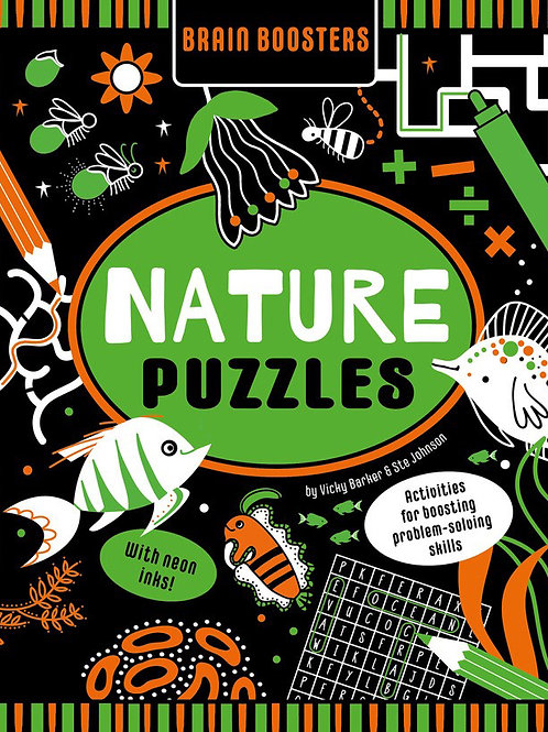 Brain Boosters: Nature Puzzles by Vicky Barker