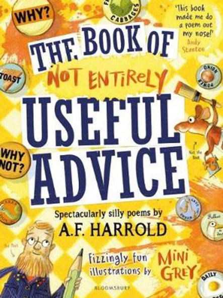 Book of Not Entirely Useful Advice A.F. Harrold