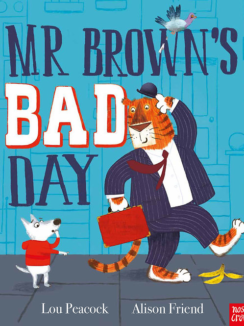 Mr Brown's Bad Day by Lou Peacock