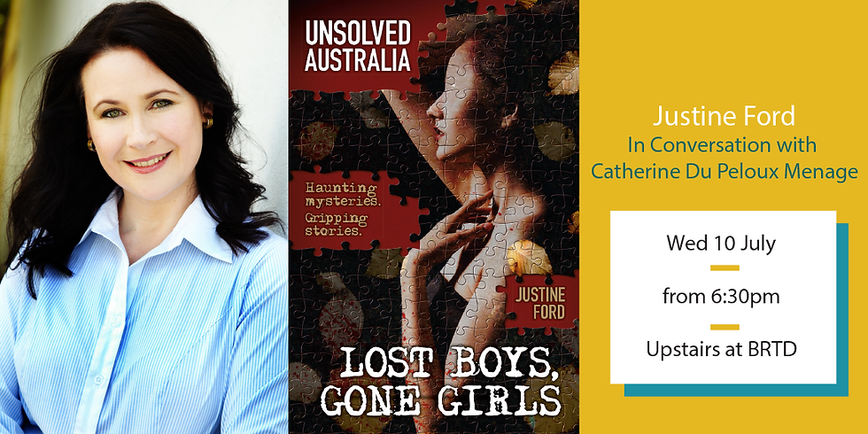 Unsolved Australia: Lost Boys, Gone Girls - with Justine Ford